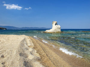 Kakoudia beach op Chalkidiki