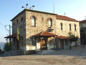 Agios Nikolaos kerk op Ammouliani eiland