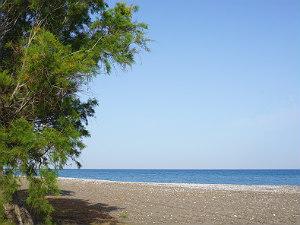 Strand van Kremasti op Rhodos