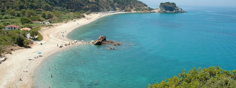 Samos vakantie klimaat en weer strand header.jpg
