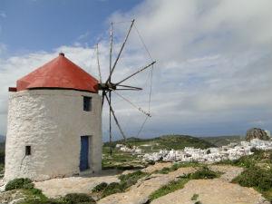 Windmolen bij Chora op Amorgos