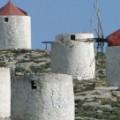 Windmolens bij Chora op Amorgos