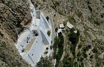 Chozoviotissa klooster op Amorgos
