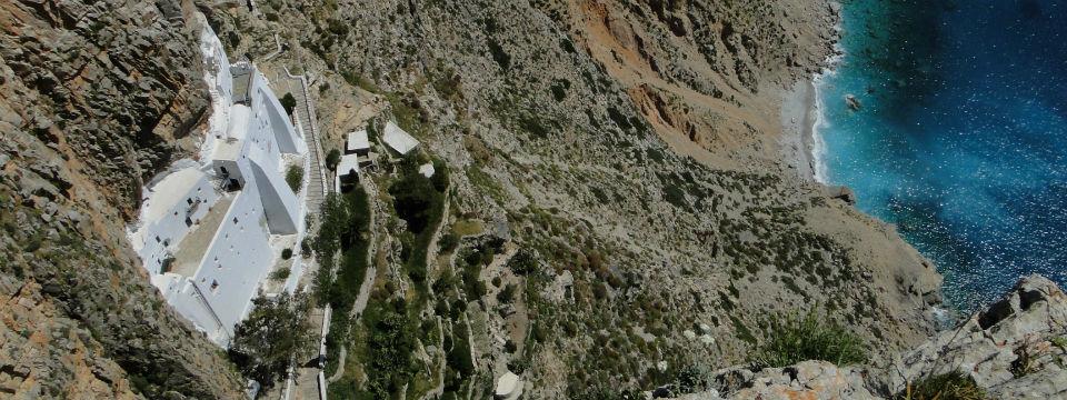 Amorgos vakantie Chozoviotissa klooster header.jpg