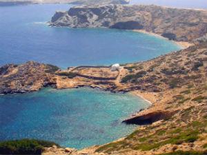 Gramvoussa beach op Amorgos