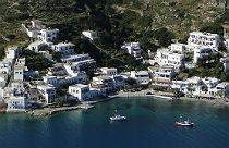 Katapola op Amorgos tijdens vakantie