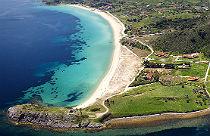 Ormos Panagis strand van Trani Ammouda