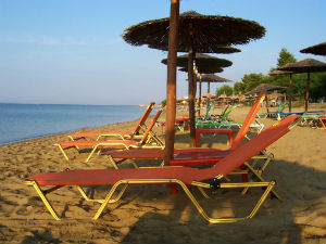 Psakoudia beach op Chalkidiki