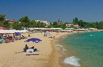 Nikiti beach op Chalkidiki