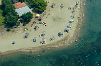 Psakoudia beach Chalkidiki