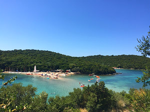 Bella Vraka beach bij Sivota in Epirus
