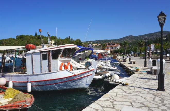 Sivota vakantie in Epirus Griekenland