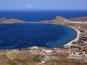 Plati beach op Limnos