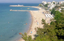 Nea Kallikratia beach Chalkidiki