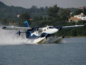 Griekenland watervliegtuig transport en routes