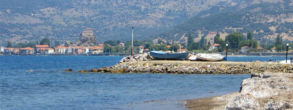 Lesbos vakantie Anaxos strand zee header.jpg