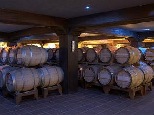 Gerovassiliou wijnhuis wijnkelders