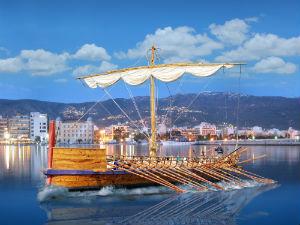 Argonauts schip Volos Griekenland