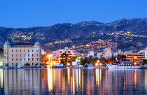 Volos by night Griekenland