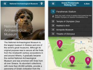 Amazing Athens app kaart en info