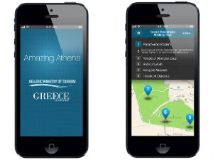 Amazing Athens app iphone
