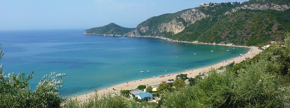Corfu vakantie Agios Georgios beach header.jpg