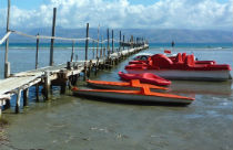 Kalamaki beach op Corfu
