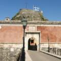 Het Oude Fort Kerkyra op het eiland Corfu