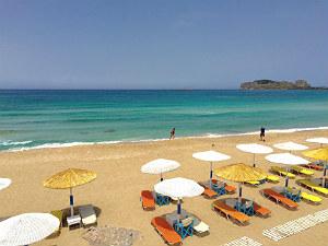 Falasarna beach op Kreta