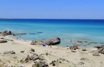 Falasarna beach op Kreta bij Chania