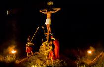 Orthodox Pasen op Paros in Griekenland
