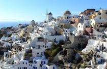 Santorini klimaat en weer Griekenland