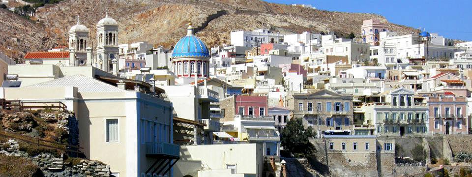 Syros vakantie Syros stad header.jpg
