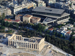Acropolis museum in Athene