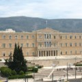 Syntagma het Parlements gebouw Athene