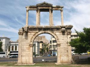 Poort van Hadrianius in Athene