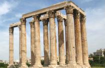 De Tempel van Zeus in Athene
