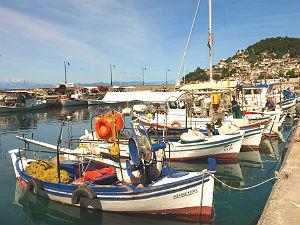 Limni haventje op Evia