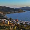 Marmari uitzicht Evia