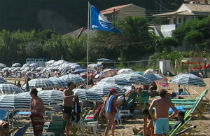 Blue Flag Beaches in Griekenland 2014