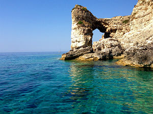 Paxos Grieks eiland zonder eigen vliegveld