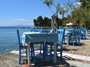 Afissos Pilion terras Glaros restaurant
