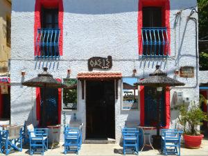 Oasis café bar in Afissos op Pilion Griekenland