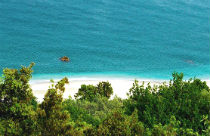 Agii Saranta of Agia Saranta beach Pilion