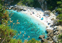 Fakistra beach op Pilion