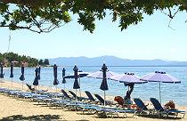 Kala Nera het strand op Pilion