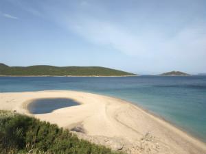 Megali Ammos beach tip Zuid Evia