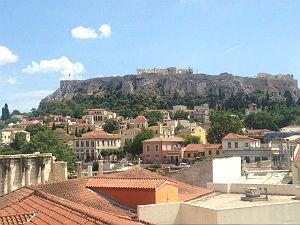 Athens 360 roof garden bar Athene