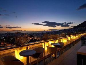 Galaxy roof garden bar Athene