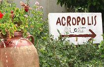 Anafiotika in Athene Griekenland